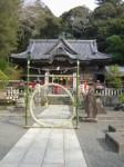 伊古奈比咩命神社(白濱神社)10・茅の輪