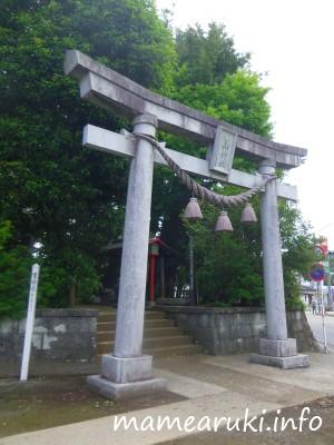 山神社・鳥居