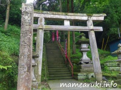 湯谷神社・鳥居