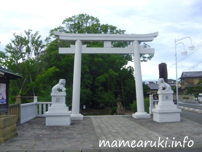 広瀬神社・鳥居