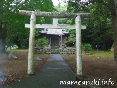 山神社1・鳥居