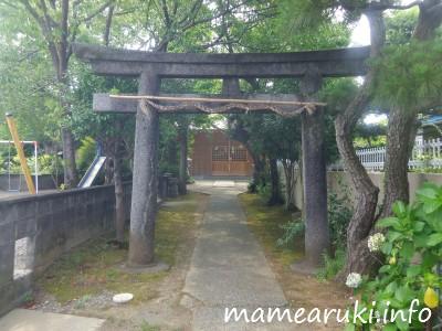 高橋神社・鳥居