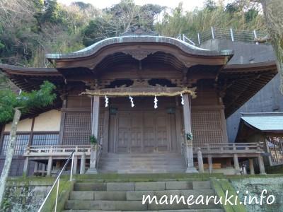 阿治古神社2