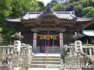 伊古奈比咩命神社(白濱神社)2