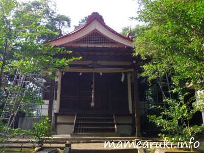 比波預天神社2