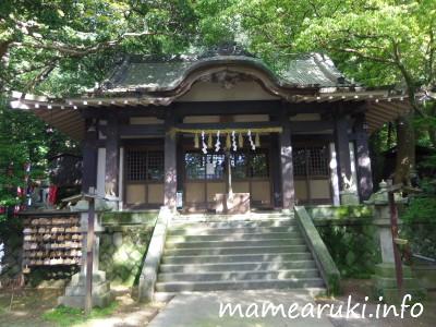 葛見神社2