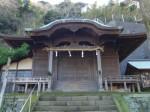 阿治古神社2・拝殿