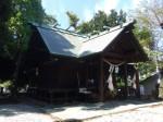 音無神社2・拝殿