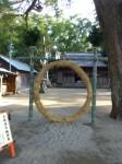 若宮神社3・茅の輪