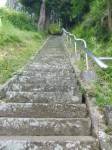 八幡神社2・階段