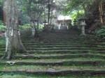 八幡宮來宮神社3・境内の石段