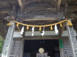 三島神社3・拝殿の彫刻