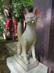 葛見神社4・神使の狐