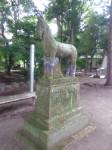 広瀬神社6・神馬像