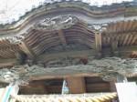伊古奈比咩命神社(白濱神社)9・拝殿の彫刻