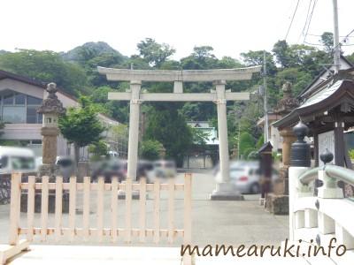 下田八幡神社・鳥居