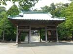 下田八幡神社4・神門