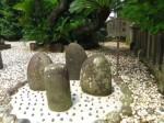下田八幡神社6・力石